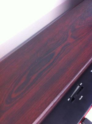 Classenti CDP1 Rosewood Close Up