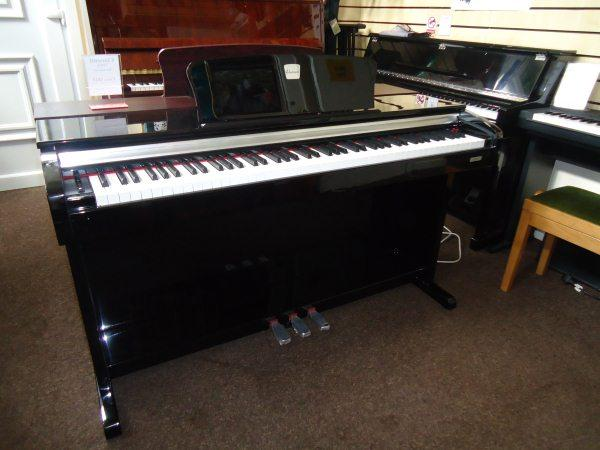 Second hand classenti cdp2 digital piano polished ebony for Yamaha clp 635 review