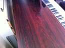Close up of wood grain