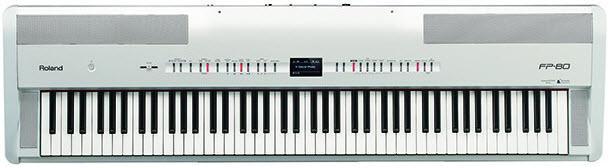 Roland FP80 in White