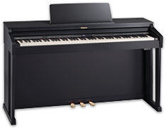 Roland HP507 Satin Black