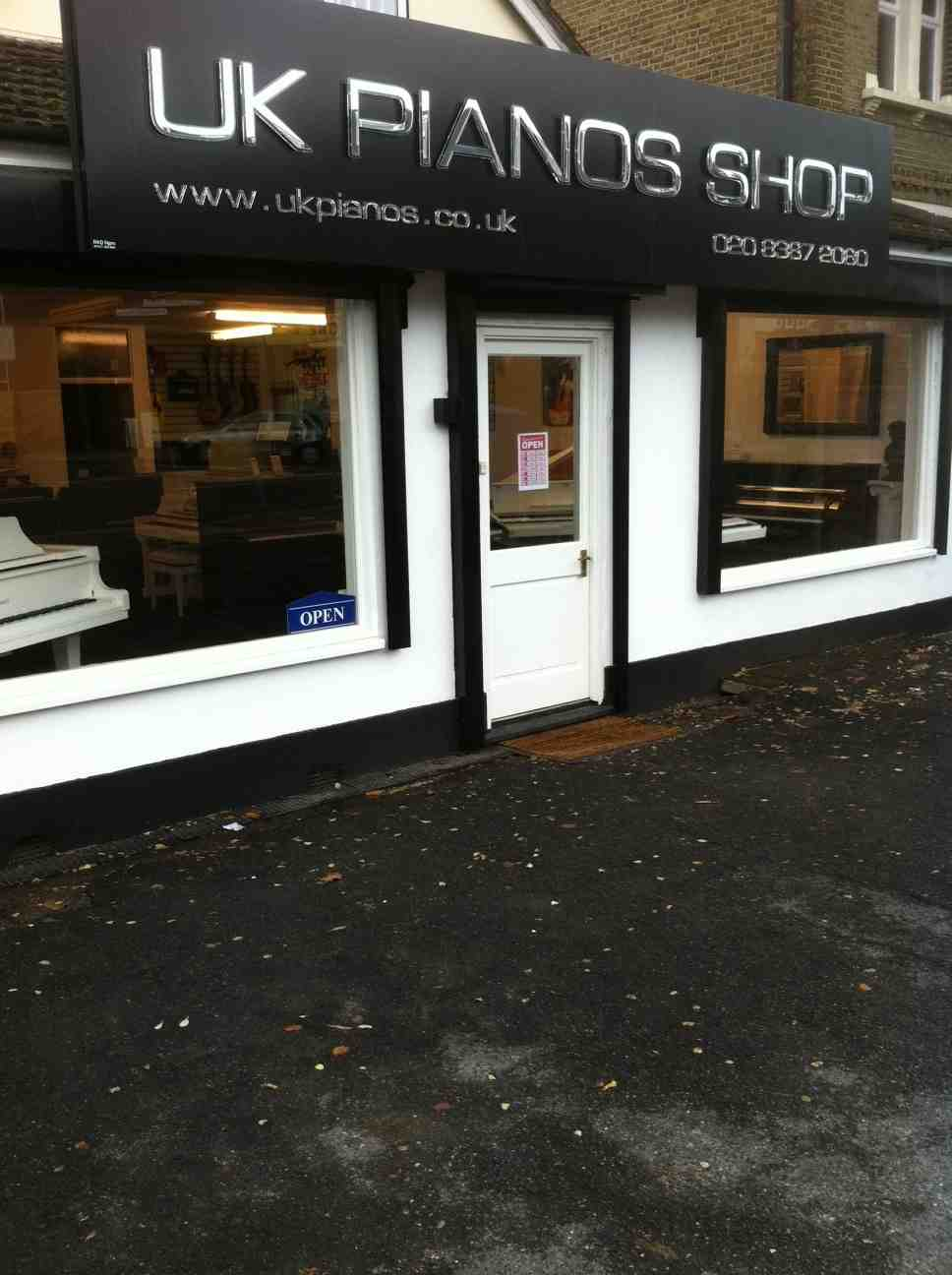 UK Piano Shop in Enfield, North London