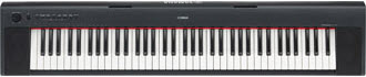 Yamaha NP31 Keyboard in black