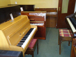 Upright Piano Showroom 1