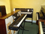 Upright and Digital Piano Showroom